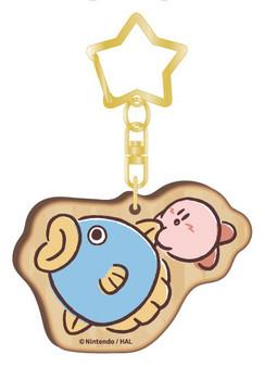 Kirby PUPUPU FRIENDS Wooden Charm Kine(Released)