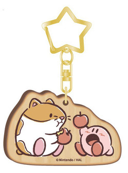 Kirby PUPUPU FRIENDS Wooden Charm Rick(Released)