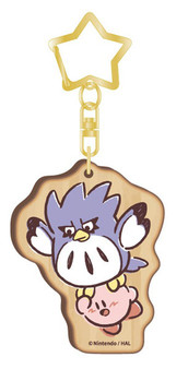 Kirby PUPUPU FRIENDS Wooden Charm Coo(Released)
