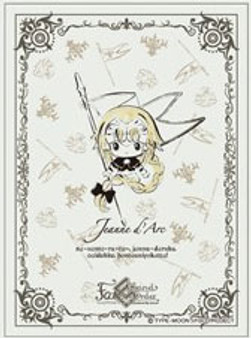 Character Sleeve Fate/Grand Order Design produced by Sanrio Jeanne d'Arc (B) (EN-857) Pack(Released)
