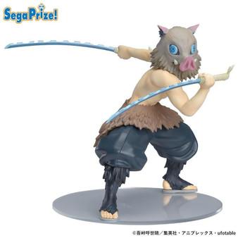 Demon Slayer Kimetsu no Yaiba - Hashibira Inosuke SPM Prize Figure by SEGA