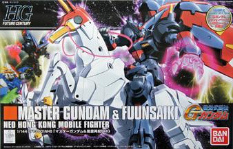 Gundam Master Gundam and Fuunsaiki HG 1/144