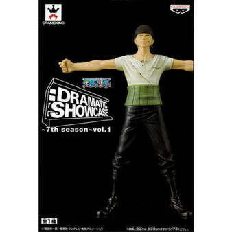 Banpresto One Piece Figurine Roronoa Zorro Dramatic Showcase
