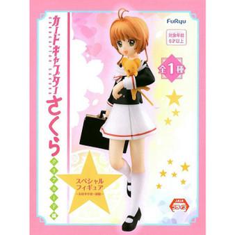 Cardcaptor Sakura Clear Card Sakura Kinomoto Tomoe Junior High School Uniform Special Figure - Furyu