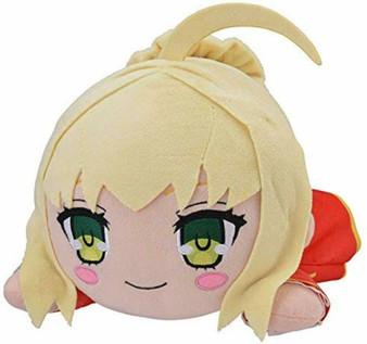 Fate/EXTRA Last Encore MEJ Saber Nero Nesoberi Lying Down Plush - Sega