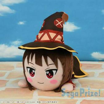 Konosuba Wonderful World Blessing The Movie Crimson Legend MEJ Megumin Nesoberi Plush - Sega