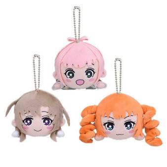 SARAZANMAI Kuttsuki Plush Mascot Set of 3 SEGA Official Gift