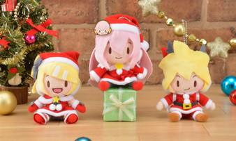 (Single) Hatsune Miku - Project DIVA - F 2nd KCM Mascot Plush Lynn & Len & Luca Christmas ver. SEGA