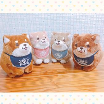 Faithful Dog Mochi Shiba Sitting Standard Shiba Plush - SK Japan