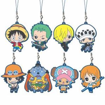One Piece Mascot Strongest ver. (Saikyou na Yatsura) Rubber Capsule Gashapon