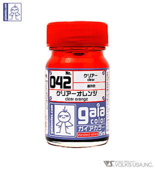 GAIA CLEAR COLOR 042 CLEAR ORANGE