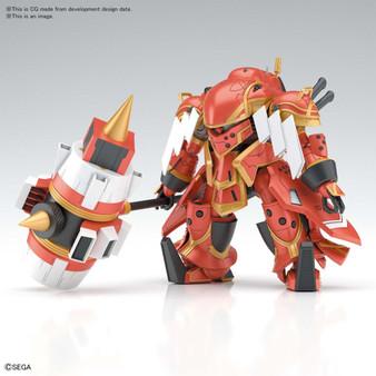 Spiricle Striker Mugen (Hatsuho Shinonome Type) - Sakura Wars HG 1/48 Plastic Model Kit - BANDAI