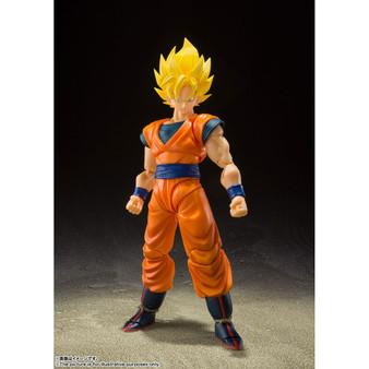 S.H.Figuarts Dragon Ball Z Super Saiyan Full Power Son Goku Action Figure Bandai Spirits