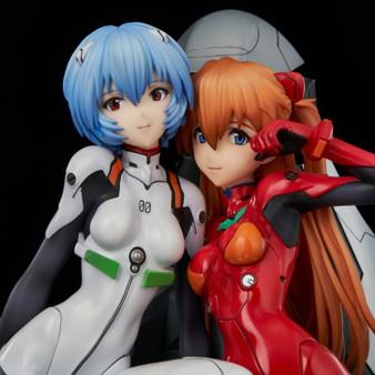Neon Genesis Evangelion Rei & Asuka - twinmore Object - PVC Figures