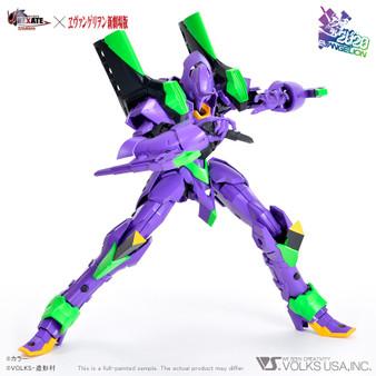 VLOCKER'S NEXATE EVA-PRIME (UNIT-01) A Dream Crossover with Evangelion!! Injection plastic model kit