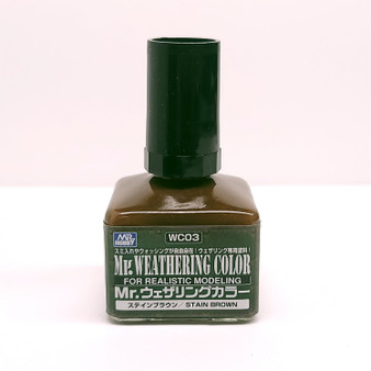 WC03 Stain Brown GSI, Mr. Weathering Color Paint