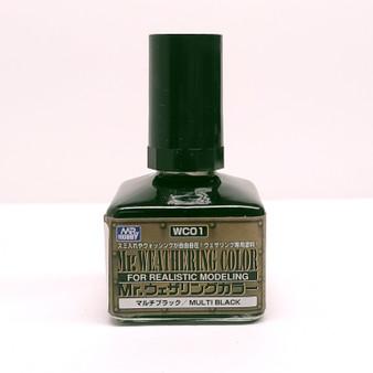 WC01 Multi Black GSI, Mr. Weathering Color Paint