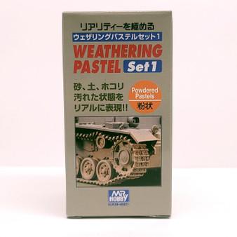 PP101 Weathering Pastel SET GSI, Mr. Weathering Color