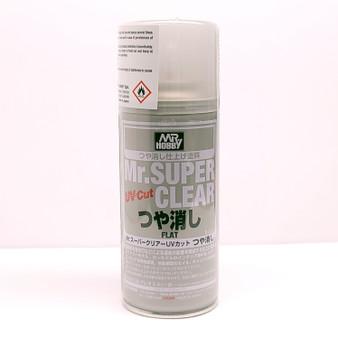 B523 MR.SUPER CLEAR UV CUT FLAT GSI, Mr. Hobby