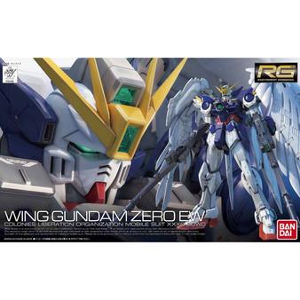 RG 1/144 XXXG-00W0 Wing Gundam Zero EW Plastic Model Plastic