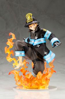 PP843_FIRE FORCE_ARTFX J SHINRA KUSAKABE