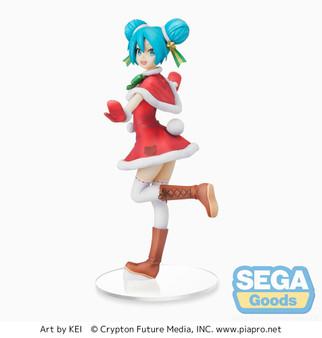 """Hatsune Miku Series SPM Figure """"Hatsune Miku"""" Christmas 2021"""