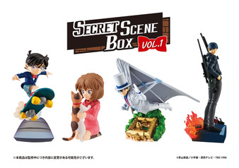 Petitrama -Case Closed- SECRET SCENE BOX Vol.1 set