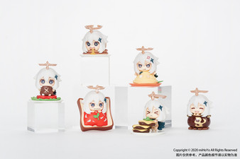 miHoYo -Genshin Impact- -Paimon is NOT EMERGENCY FOOD!- Paimon Mascot Figure Collection (Set of 6)