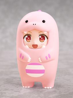 Nendoroid More  Face Parts Case (Pink Dinosaur)