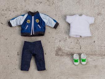 Nendoroid Doll  Outfit Set (Souvenir Jacket - Blue)