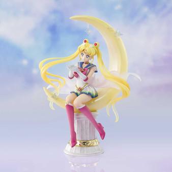 "Super Sailor Moon -Bright Moon & Legendary Silver Crystal- ""Pretty Guardian Sailor Moon Eternal Moon"", Bandai Spirits Figuarts Zero chouette"