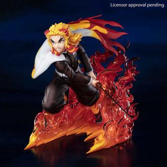 """Kyojuro Rengoku Flame Hashira """"Demon Slayer Kimetsu no Yaiba"""", Bandai Spirits Figuarts Zero"""