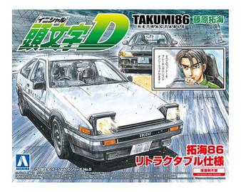 1/32 TAKUMI86 RETRACTABLE (TOYOTA)