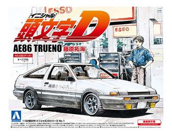 1/32 AE86TRUENO TAKUMI FUJIWARA (TOYOTA)