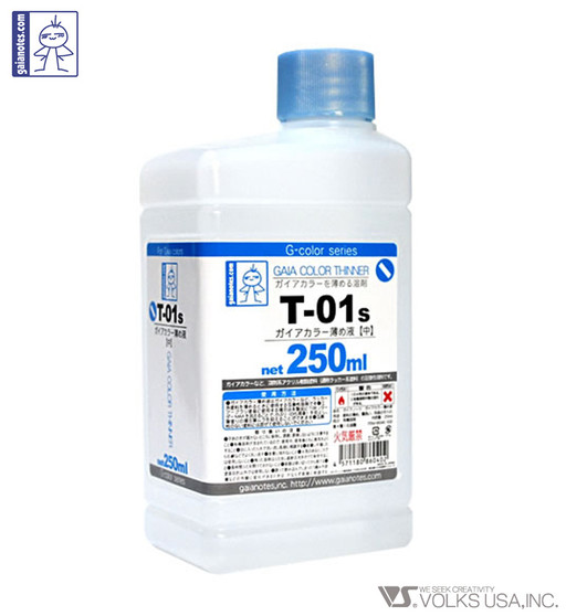 GAIANOTES COLOR THINNER T-01S 250ML