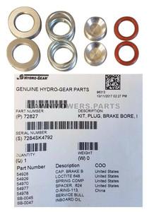 Hydro Gear OEM 72827 - Kit Plug Brake Bore Inboard - Hydro Gear Original Part - Image 1