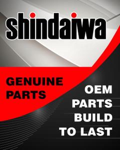 Shindaiwa OEM X504005800 - Label Shindaiwa T254 - Shindaiwa Original Part - Image 1