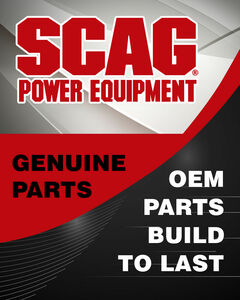 Scag OEM 04133-01 - NUT, 3/8-16 HEX W/ LOCKING PATCH - Scag Original Part - Image 1