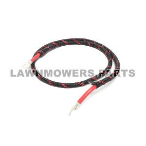 Scag OEM 48029-30 - BAT CABLE, 44.0 RED W/ BRAID - Scag Original Part - Image 1