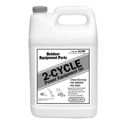 OREGON 54-006 - TWO CYCLE OIL 1 GALLON BOTTLE - Product Number 54-006 OREGON