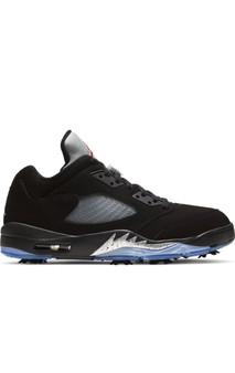 Air Jordan 5 Retro Low Golf Black Metallic