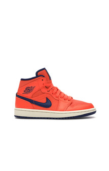 Jordan 1 Mid Turf Orange Blue Void
