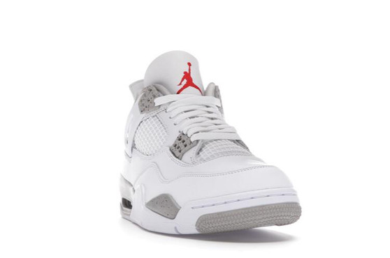 Jordan 4 Retro White Oreo (Tech Grey) 2021
