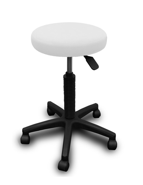 Product & Description  Stool covers are an essential part of clinical practice. They protect your valuable, expensive equipment & look great   Dimensions:  Stool Covers fit up to 5 cm depth & 33 cm diameter   Fabric:   Fabric 100% polyester microfibre/fleece  Microfibre/fleece is a soft luxurious fabric that stays looking good when laundered correctly, making is long lasting