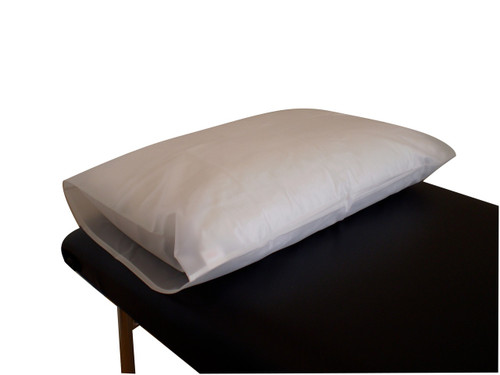 Product & Description  Waterproof pillowcases are an essential part of clinical practice. Made to cover & protect the pillow from moisture & made from waterproof, wipeable, machine washable PVC  Fabric:  100% PVC