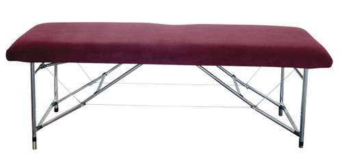 """Product & Description  Table covers, fitted sheets, plinth covers, whatever you prefer to call them are an essential part of clinical practice.  They protect your valuable & expensive equipment & for a non slip base for the items (drapes, sheets or towels) that come in contact with your client.  Our covers are all elasticated with a minimum of 2 pairs of ties for a secure fit.  Please note the dimensions """"fit up to"""" the dimensions noted.  Fabric:   Fabric 100% polyester microfibre/fleece  Microfibre/fleece is a soft luxurious fabric that stays looking good when laundered correctly, making is long lasting   This fabric doesn't stain as readily as traditional cotton options & is much quicker to dry."""