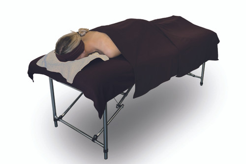 Product & Description:   Drapes, blankets or towels no matter what you call them they are an essential part of clinical practice. Used under & or over clients during treatments they add an element of professionalism to your clinic.  Easy to launder quick to dry and durable, these are a must have for your clinical practice be it in home or clinic.   Microfibre/fleece is a soft luxurious fabric   Changed for each client.     Fabric:   100% Polyester Microfibre/fleece Microfibre/fleece is a soft luxurious fabric that stays looking good when laundered correctly, making is long lasting Size:   100cm width x 150 cm length