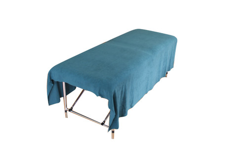 Product & Description:  Drapes, blankets, sheets or towels no matter what you call them they are an essential part of clinical practice. Used under & or over clients during treatments they add an element of professionalism to your clinic.  Easy to launder and durable, these are a must have for your clinical practice be it in home or clinic.  Changed for each client.  Fabric:  100% Polyester Microfibre/fleece  Microfibre/fleece is a soft luxurious fabric that stays looking good when laundered correctly, making is long lasting This fabric doesn't stain as readily as traditional cotton options & is much quicker to dry.   Size:   150cm width x 200 cm length