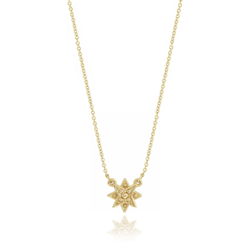 shining 1044star necklace