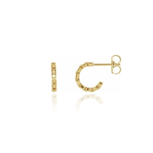 Tiny Chain Hoops